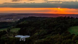 Luftaufnahmen von VU